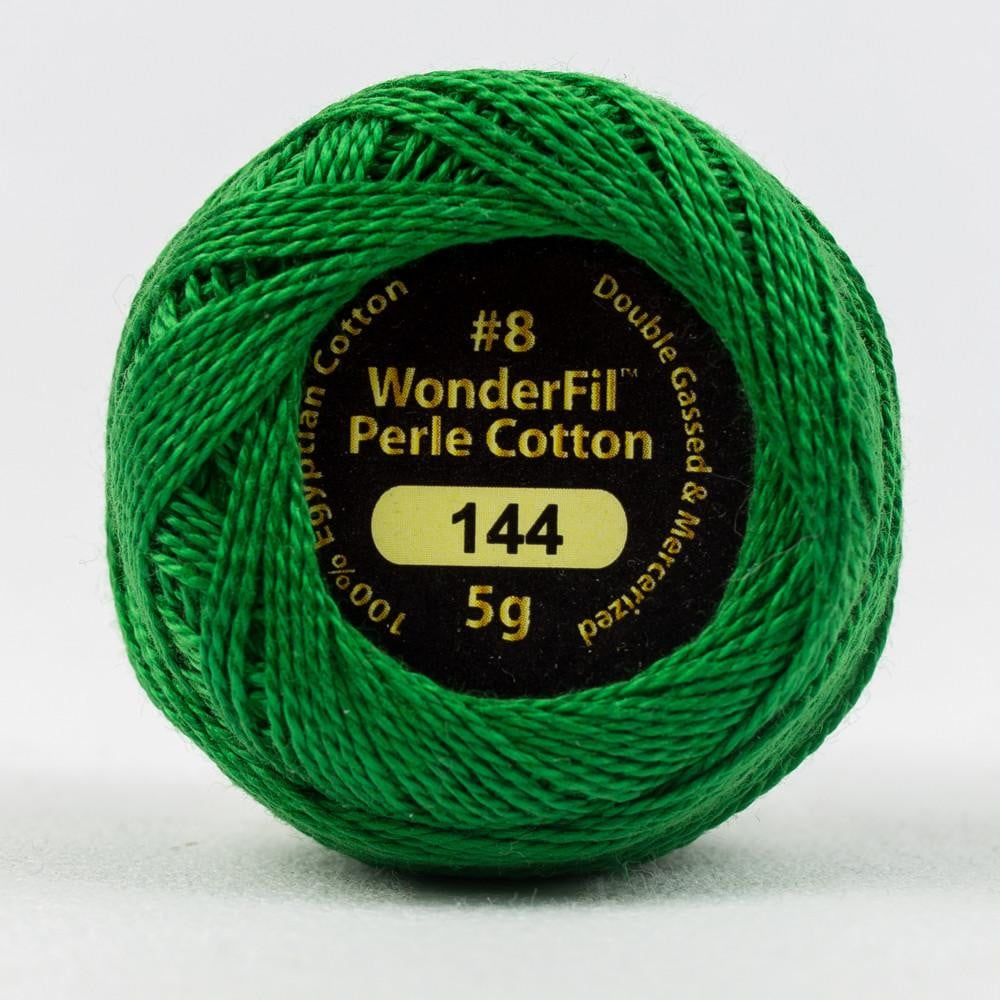EL5G144 - Eleganza 8wt Egyptian Cotton Emerald Thread - wonderfil-online-eu