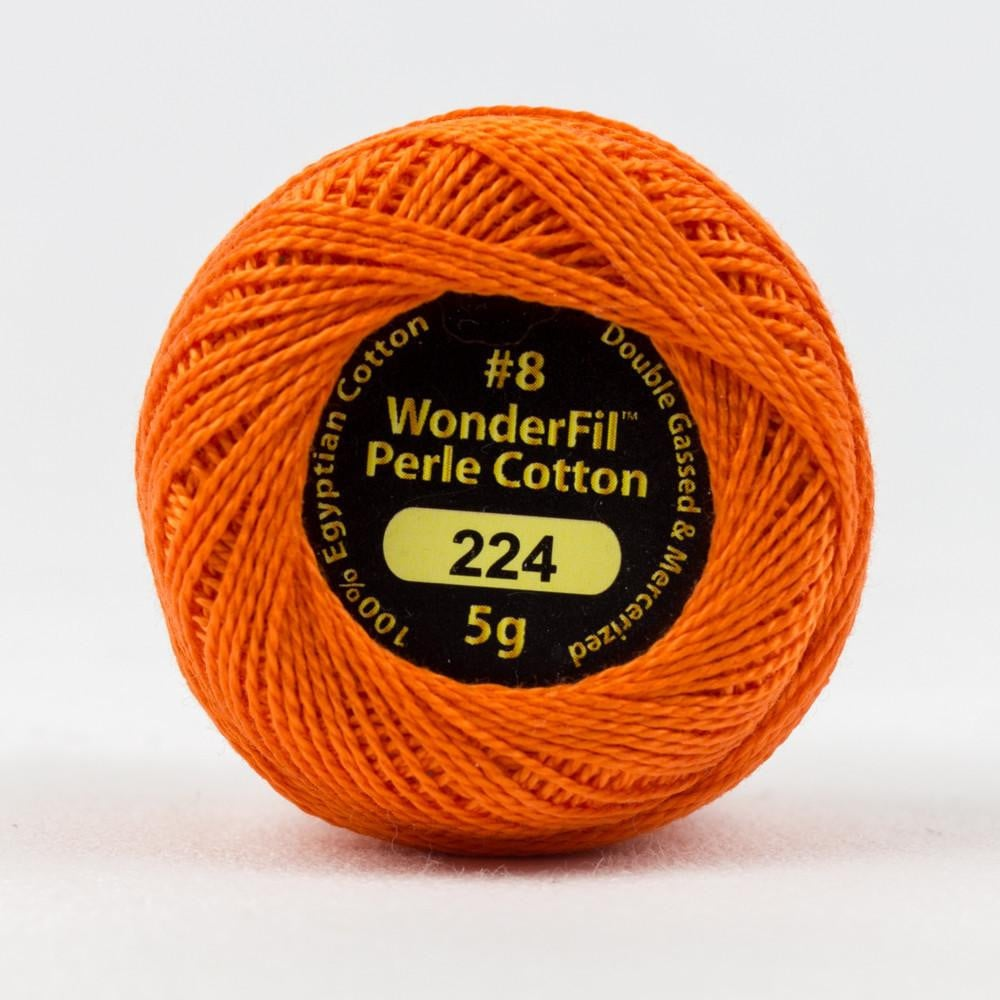 EL5G224 - Eleganza 8wt Egyptian Cotton Wildfire Thread - wonderfil-online-eu