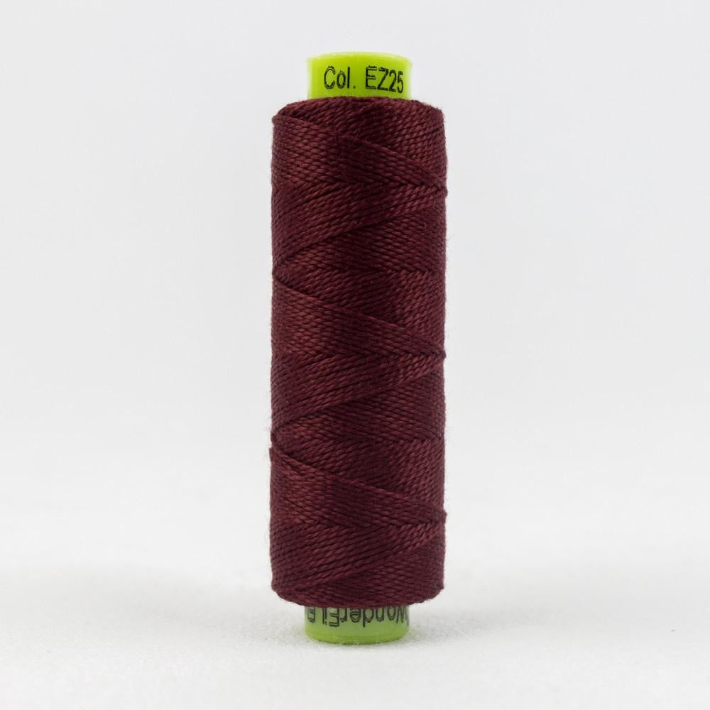 SSEZ825 - Eleganza 8wt Egyptian Cotton Signature Wine Thread - wonderfil-online-eu
