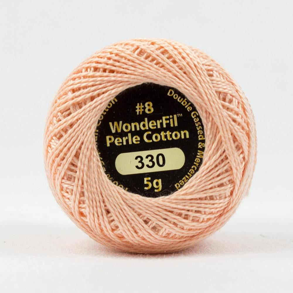 EL5G330 - Eleganza 8wt Egyptian Cotton Peach Fuzz Thread - wonderfil-online-eu