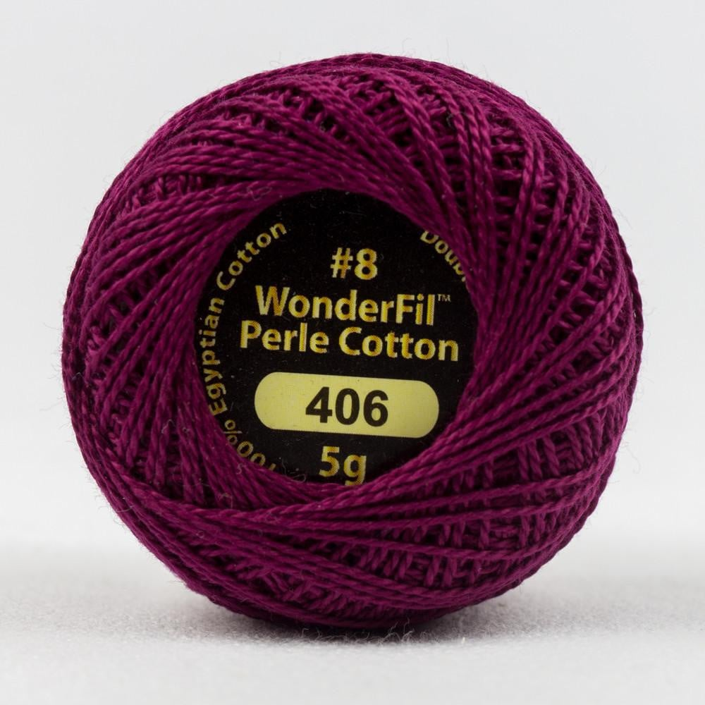 EL5G406 - Eleganza 8wt Egyptian Cotton Grape Jelly Thread - wonderfil-online-eu