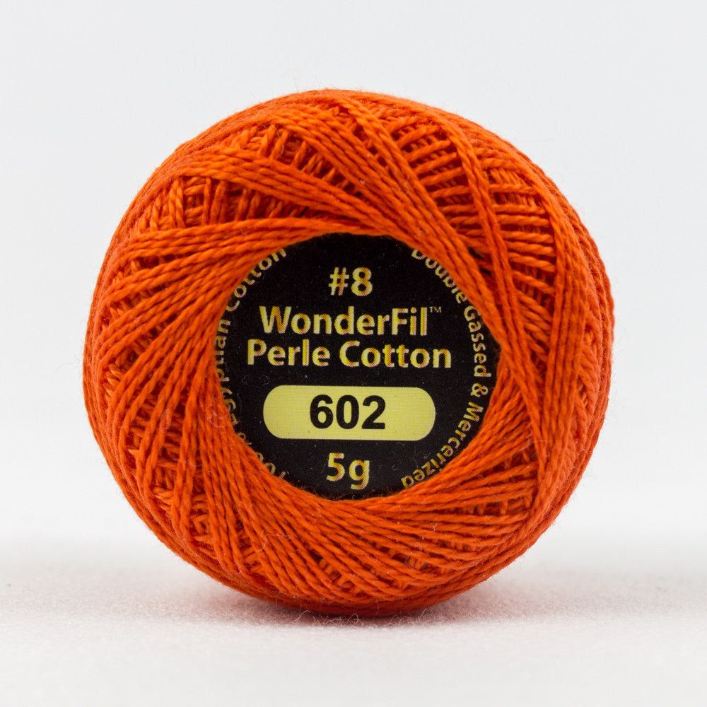 EL5G602 - Eleganza 8wt Egyptian Cotton Hot Coals Thread - wonderfil-online-eu