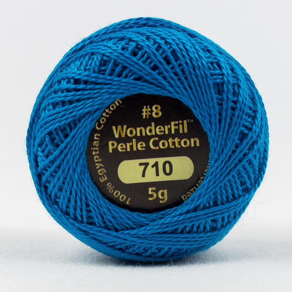 EL5G710 - Eleganza 8wt Egyptian Cotton Peacock Thread - wonderfil-online-eu