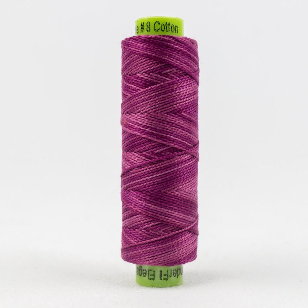 SSEZM828 - Eleganza 8wt Egyptian Cotton Pink Go Getter Thread - wonderfil-online-eu
