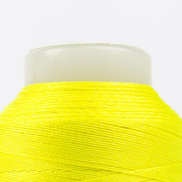 FB01 - Fabulux 40wt Trilobal Polyester Neon Lemon Thread - wonderfil-online-eu