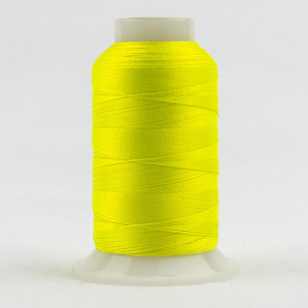 FB01 - Fabulux 40wt Trilobal Polyester Neon Lemon Thread