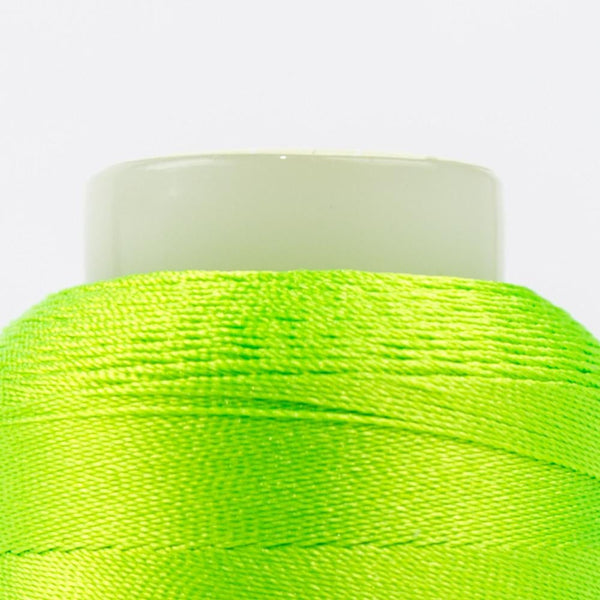 FB02 - Fabulux 40wt Trilobal Polyester Neon Lime Thread - wonderfil-online-eu