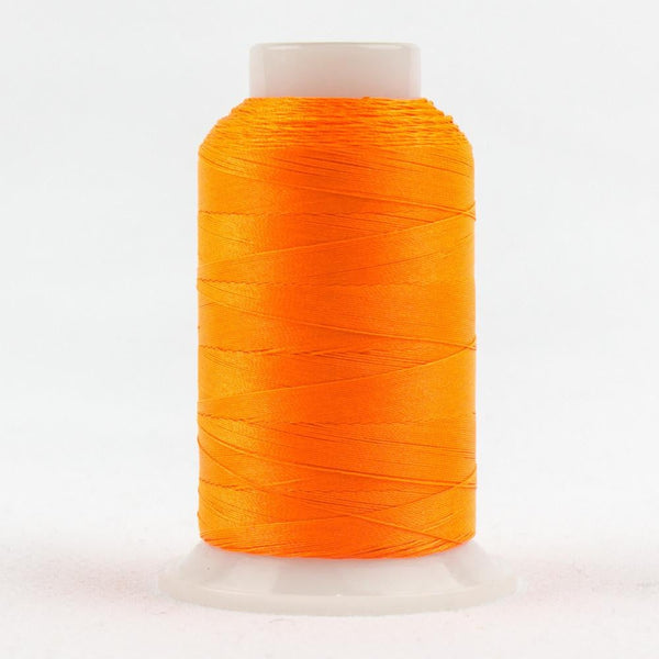 FB02 - Fabulux 40wt Trilobal Polyester Neon Orange Thread - wonderfil-online-eu
