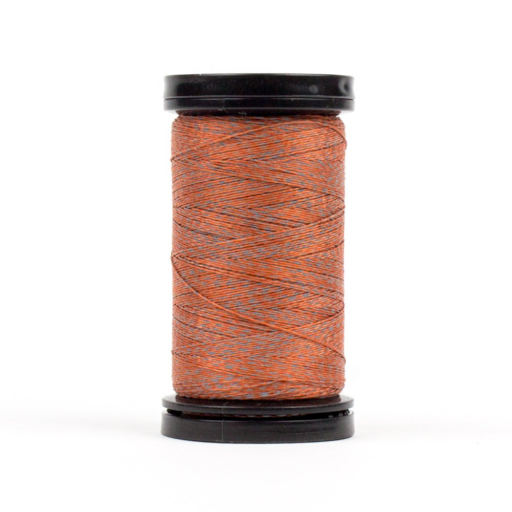 FS02 - Flash 40wt Polyester Reflective Tango Red Thread - wonderfil-online-eu