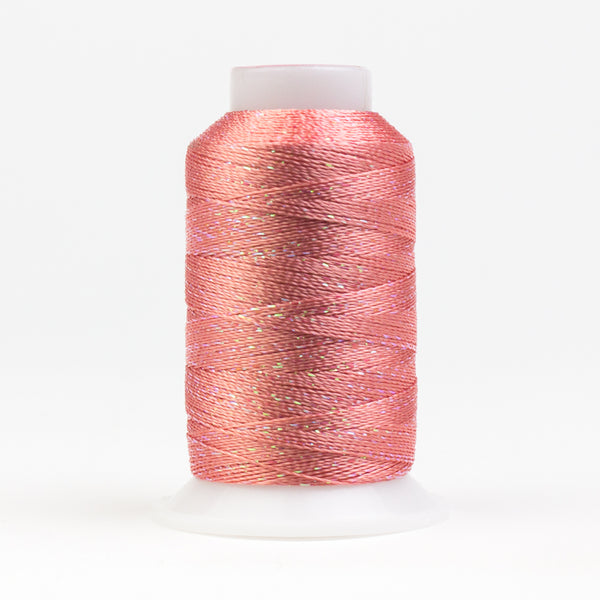 GM1127 - GlaMore 12wt Rayon and Metallic Prawn Thread - wonderfil-online-eu