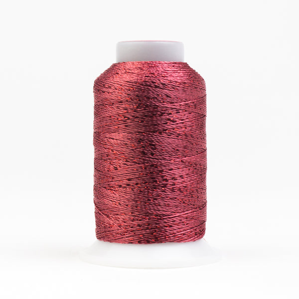 GM2514 - GlaMore 12wt Rayon and Metallic Coral Rose Thread - wonderfil-online-eu