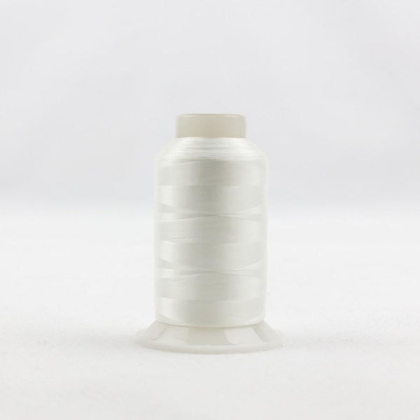 IF104 - InvisaFil 100wt Cotton Polyester White Thread - wonderfil-online-eu