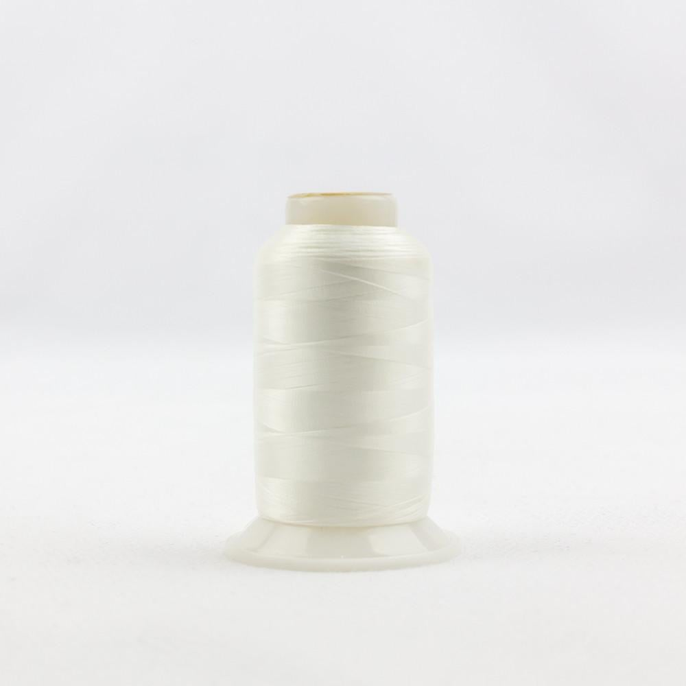 IF105 - InvisaFil 100wt Cotton Polyester Off White Thread - wonderfil-online-eu