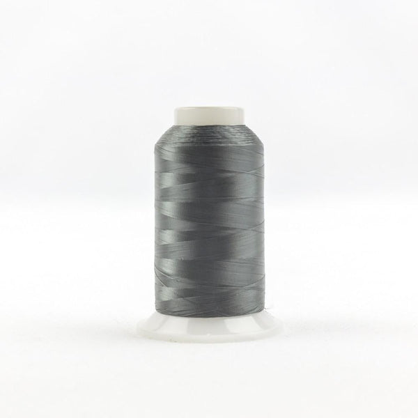 IF122 - InvisaFil 100wt Cotton Polyester Dark Grey Thread - wonderfil-online-eu