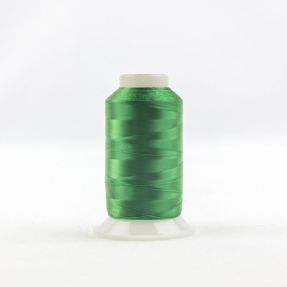 IF606 - InvisaFil 100wt Cotton Polyester Christmas Green Thread - wonderfil-online-eu