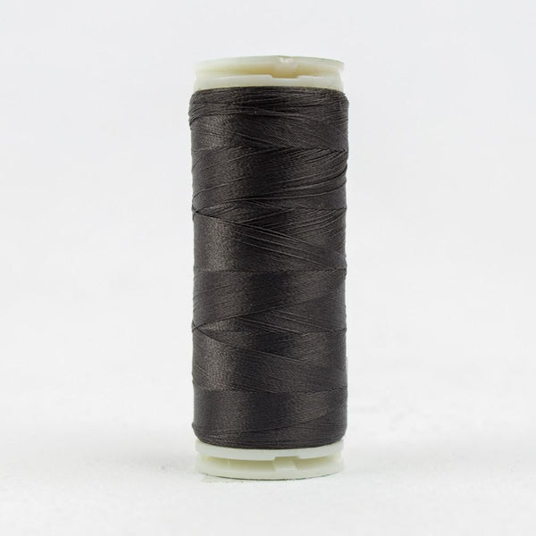 IF168 - InvisaFil 100wt Cotton Polyester Charcoal Thread - wonderfil-online-eu