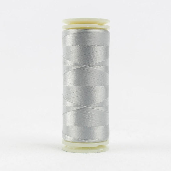 IF718 - InvisaFil 100wt Cotton Polyester Winet Sky Grey Thread - wonderfil-online-eu