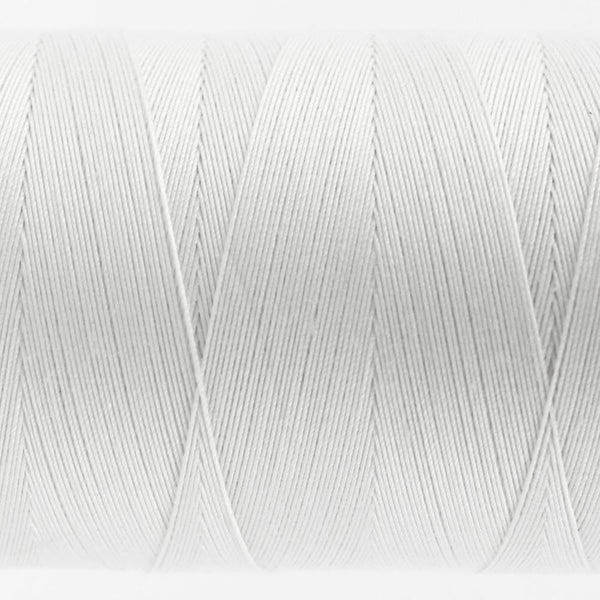 KT100 - Konfetti 50wt Egyptian Cotton White Thread - wonderfil-online-eu