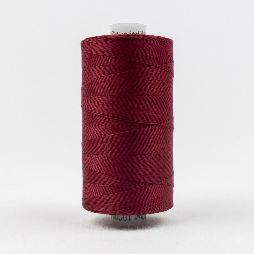 KT301 - Konfetti 50wt Egyptian Cotton Burgundy Thread - wonderfil-online-eu
