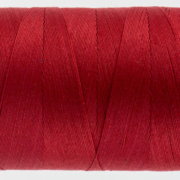 KT302 - Konfetti 50wt Egyptian Cotton Christmas Red Thread - wonderfil-online-eu