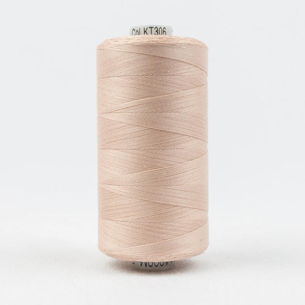 KT306 - Konfetti 50wt Egyptian Cotton Soft Pink Thread - wonderfil-online-eu