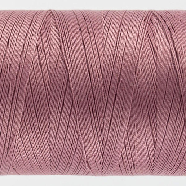 KT307 - Konfetti 50wt Egyptian Cotton Dusty Plum Thread - wonderfil-online-eu