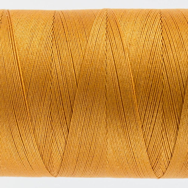 KT402 - Konfetti 50wt Egyptian Cotton Drab Orange Thread - wonderfil-online-eu