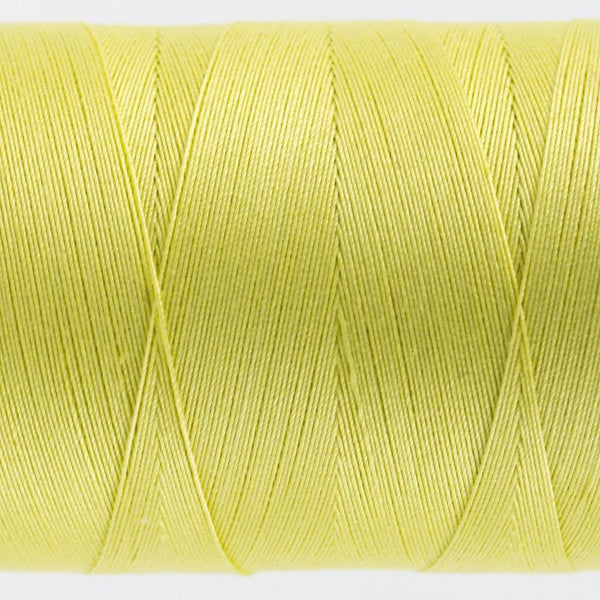 KT403 - Konfetti 50wt Egyptian Cotton Yellow Thread - wonderfil-online-eu
