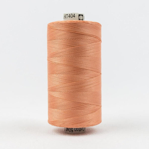 KT404 - Konfetti 50wt Egyptian Cotton Coral Thread - wonderfil-online-eu