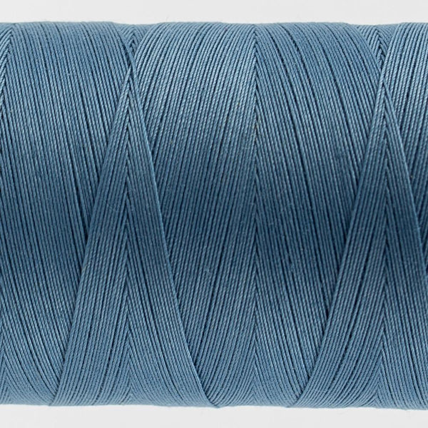 KT600 - Konfetti 50wt Egyptian Cotton Blue Thread - wonderfil-online-eu