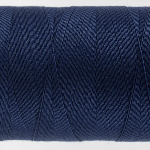 KT601 - Konfetti 50wt Egyptian Cotton Navy Thread - wonderfil-online-eu