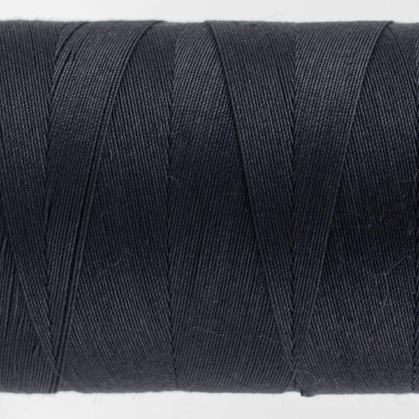 KT602 - Konfetti 50wt Egyptian Cotton Dark Navy Thread - wonderfil-online-eu