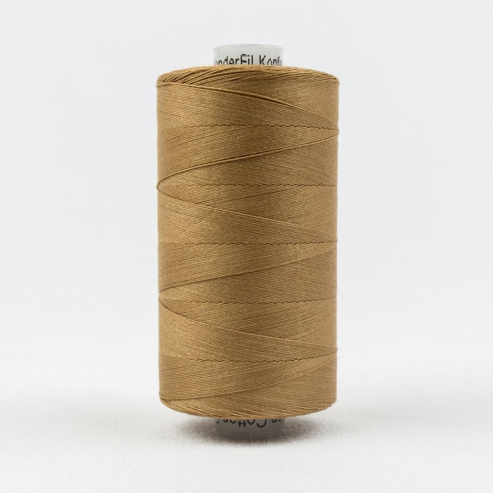 KT810 - Konfetti 50wt Egyptian Cotton Warm Brown Thread - wonderfil-online-eu