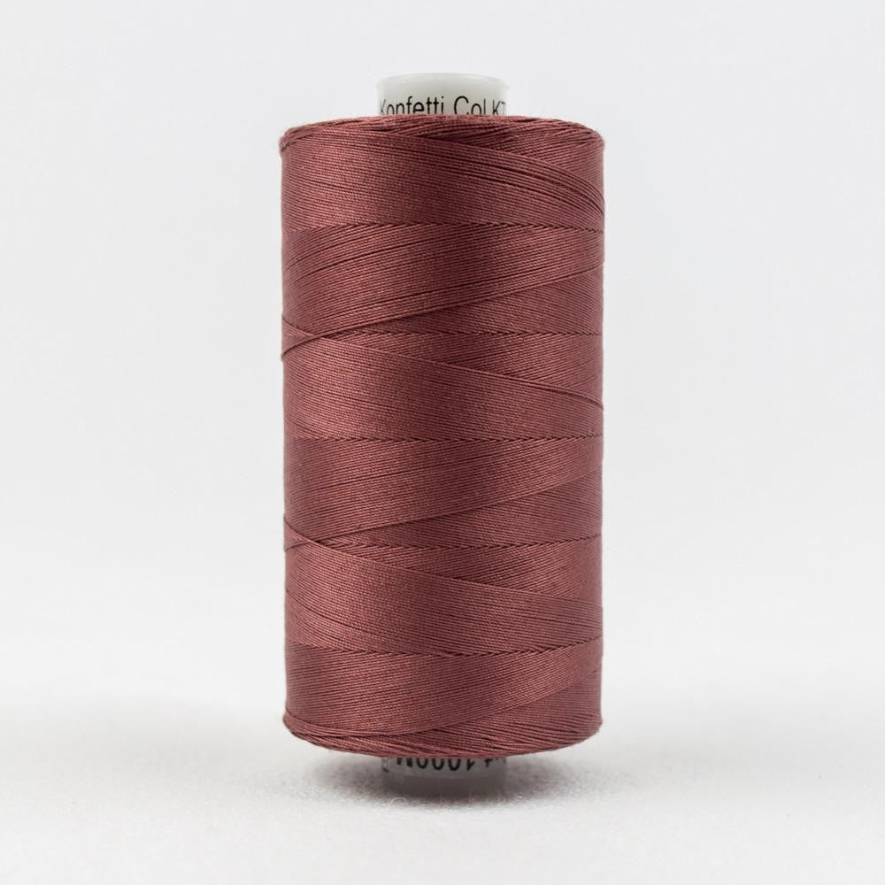 KT811 - Konfetti 50wt Egyptian Cotton Barn Red Thread - wonderfil-online-eu