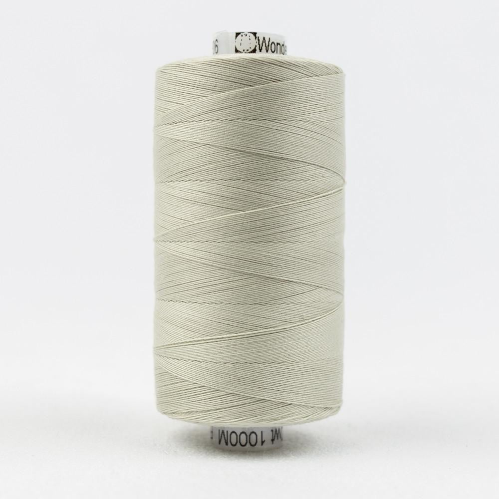 KT906 - Konfetti 50wt Egyptian Cotton Pale Grey Thread - wonderfil-online-eu