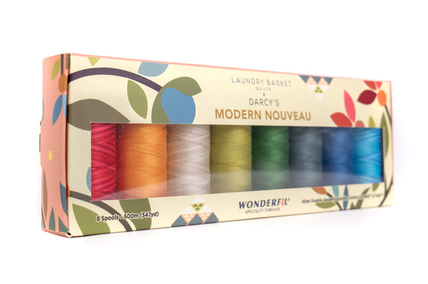 Darcy's Modern Nouveau by Edyta Sitar - Egyptian Cotton Thread Pack