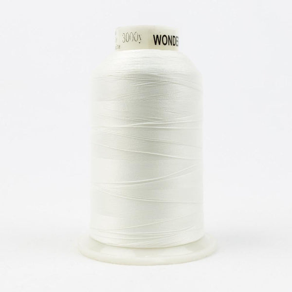 MQ01 - All Purpose Polyester White Thread 40wt - wonderfil-online-eu