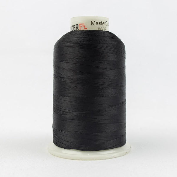 MQ03 - All Purpose Black Polyester Thread 40wt - wonderfil-online-eu