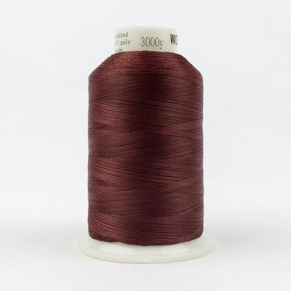 MQ11 - All Purpose Burgundy Polyester Thread 40wt - wonderfil-online-eu