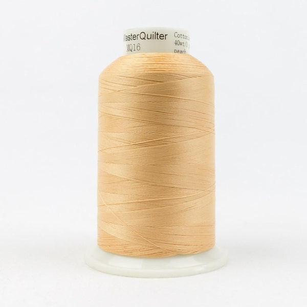 MQ16 - All Purpose Peach Polyester Thread 40wt - wonderfil-online-eu