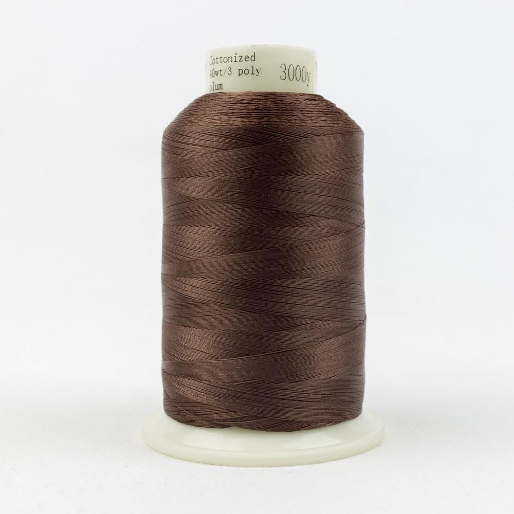 MQ17 - All Purpose Plum Polyester Thread 40wt - wonderfil-online-eu