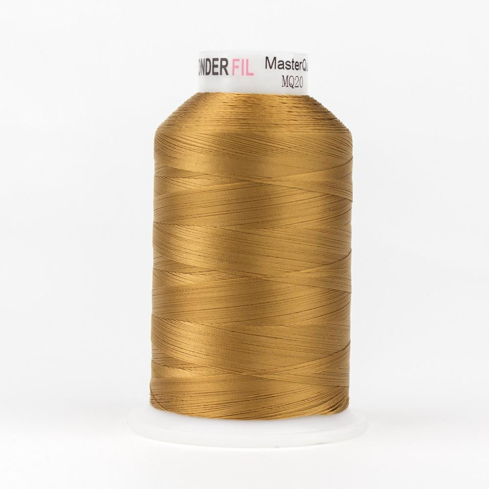 MQ20 - All Purpose Gold Brown Polyester Thread 40wt - wonderfil-online-eu