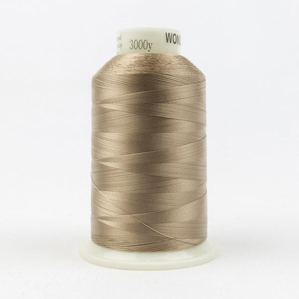 MQ21 - All Purpose Dark Ecru Polyester Thread 40wt - wonderfil-online-eu