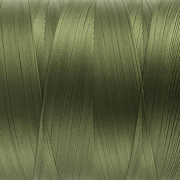 MQ24 - All Purpose Dark Olive Polyester Thread 40wt - wonderfil-online-eu