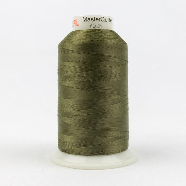 MQ25 - All Purpose Pink Green Polyester Thread 40wt - wonderfil-online-eu