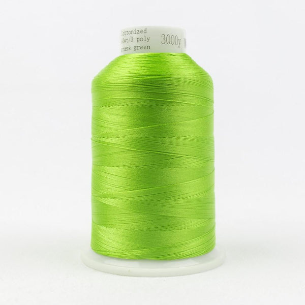 MQ26 - All Purpose Grass Green Polyester Thread 40wt - wonderfil-online-eu