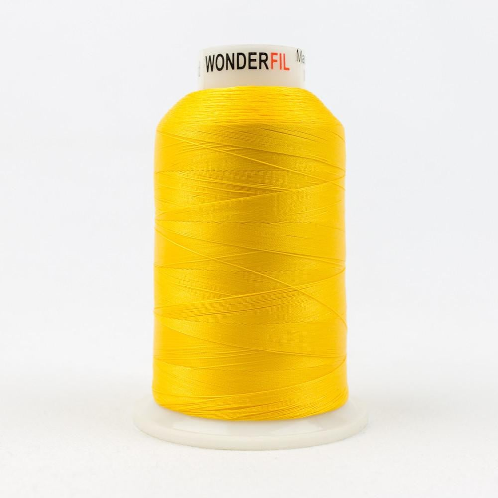MQ33 - All Purpose Yellow Polyester Thread 40wt - wonderfil-online-eu