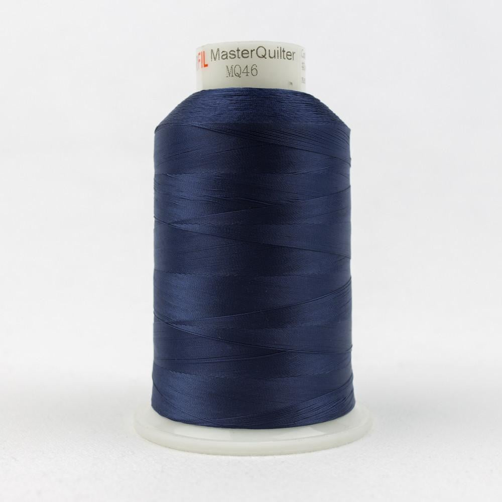 MQ46 - All Purpose Navy Polyester Thread 40wt - wonderfil-online-eu