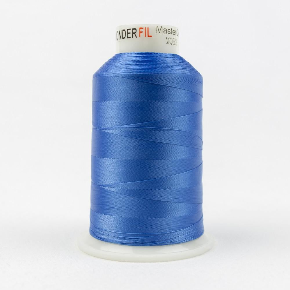 MQ53 - All Purpose Royal Blue Polyester Thread 40wt - wonderfil-online-eu