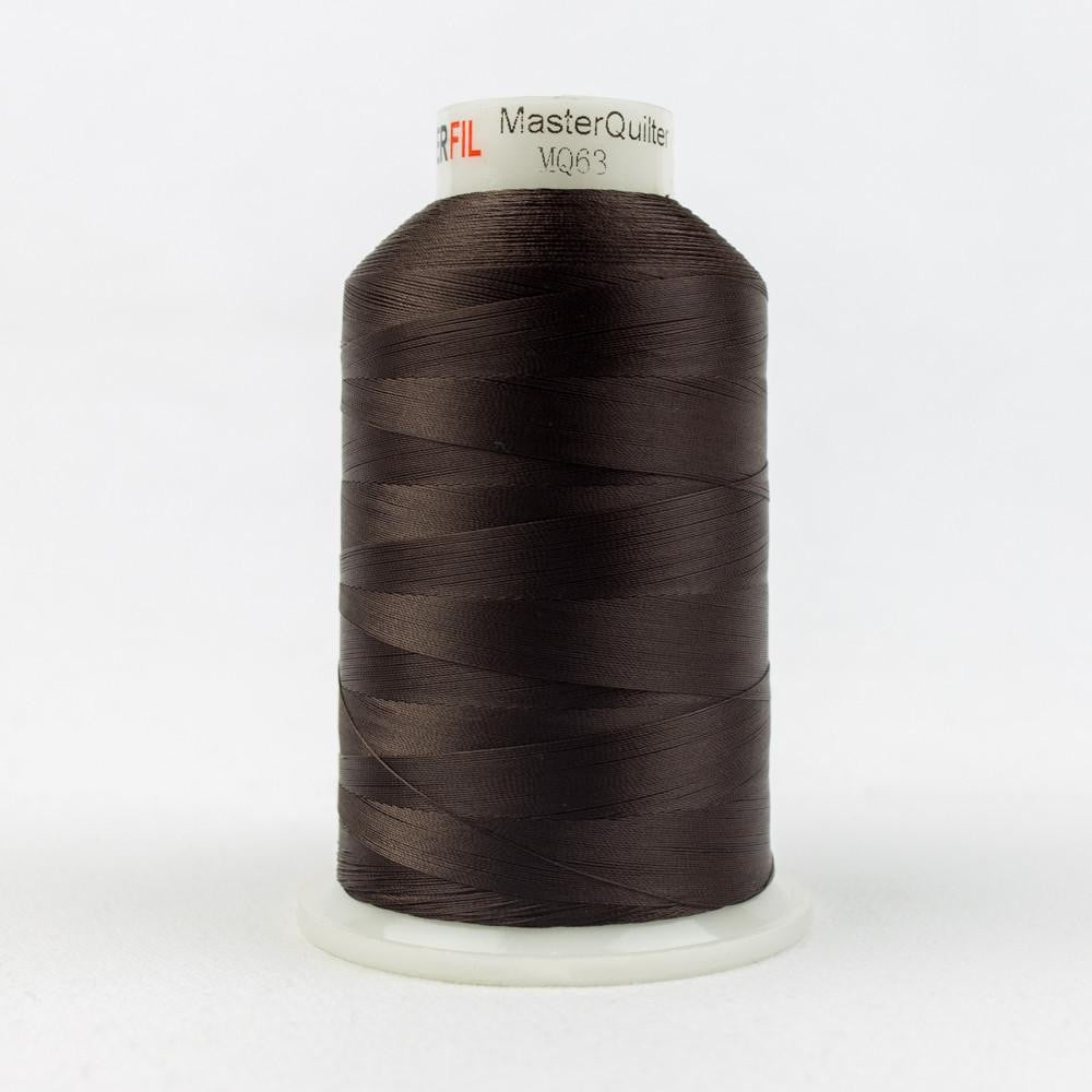 MQ63 - All Purpose Chestnut Polyester Thread 40wt - wonderfil-online-eu